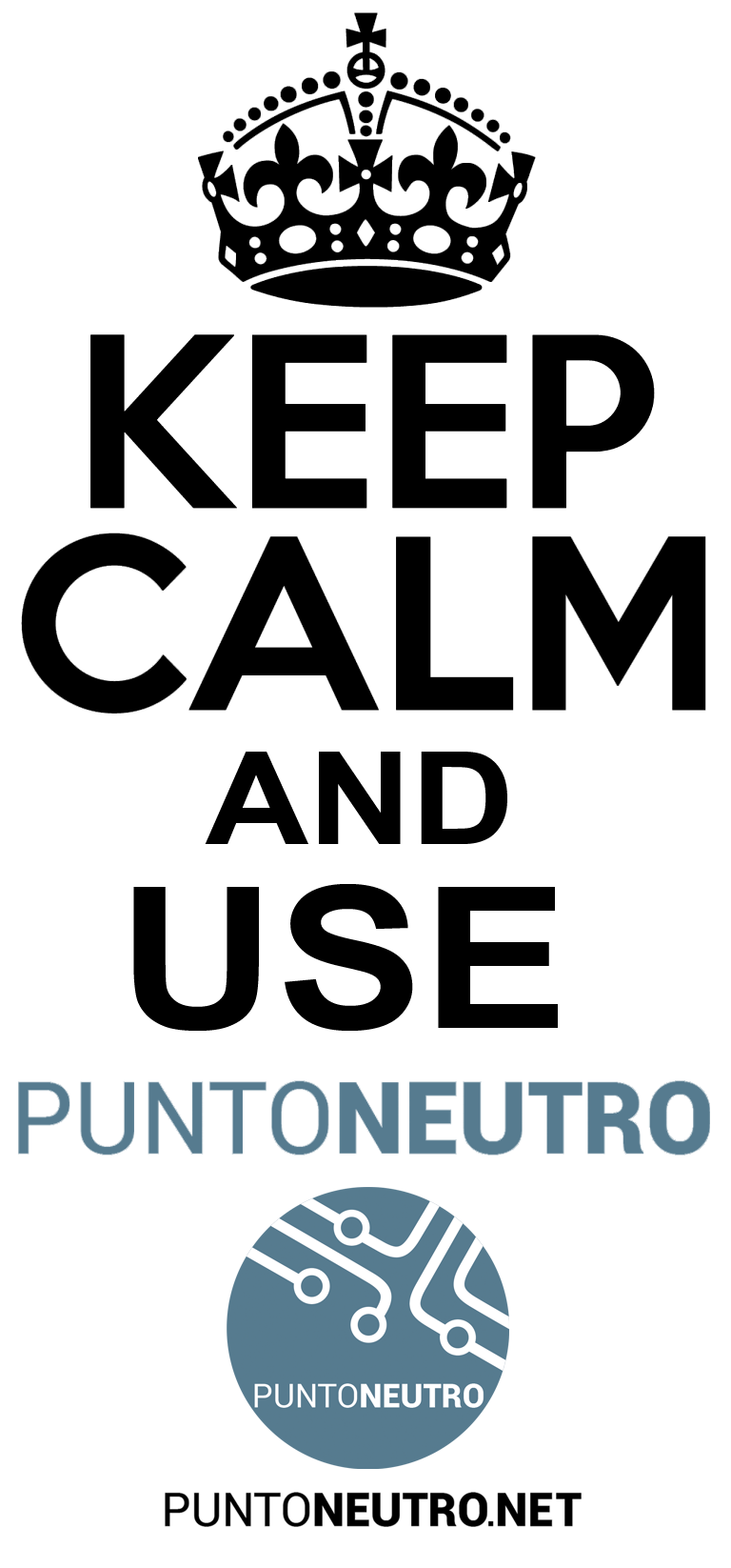 Keep Calm and use Punto Neutro
